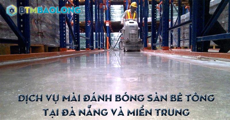 Mài đánh bóng sàn bê tông tại Đà Nẵng
