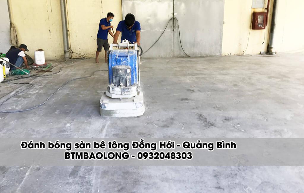 Đánh bóng sàn bê tông Đồng Hới Quảng Bình