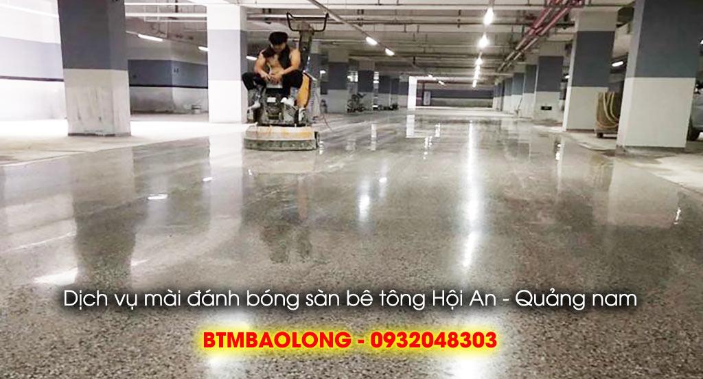 Dịch vụ đánh bóng sàn bê tông Hội An - Quảng Nam