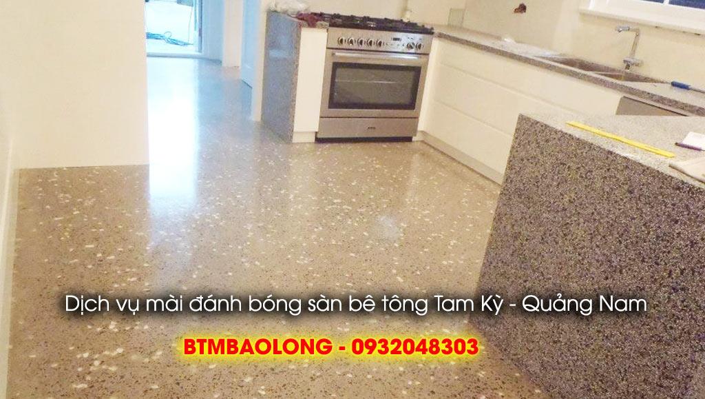 Dịch vụ mài đánh bóng sàn bê tông Tam Kỳ - Quảng Nam
