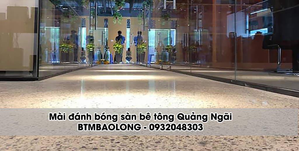 Mài sàn bê tông Quảng Ngãi