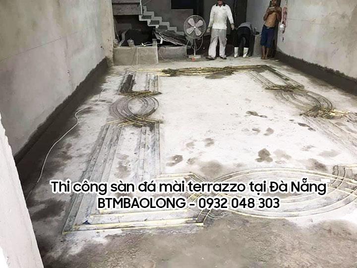 Công ty thi công sàn đá mài terrazzo tại Đà Nẵng